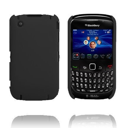 Beta Shield Musta Blackberry Curve 8520 / 8530 Suojakuori