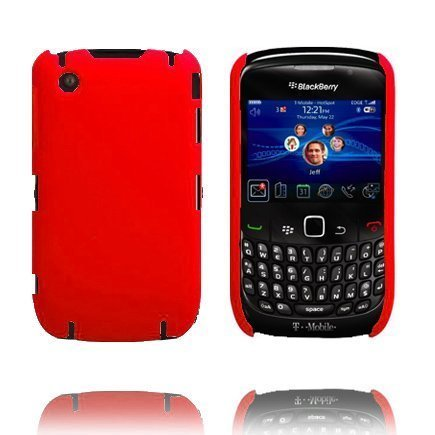 Beta Shield Punainen Blackberry Curve 8520 / 8530 Suojakuori