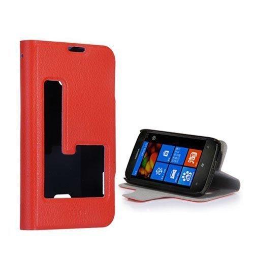 Betha Oranssi Nokia Lumia 510 Nahkakotelo