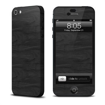 Black Woodgrain iPhone 5