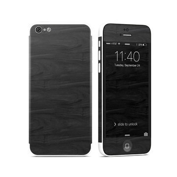Black Woodgrain iPhone 5C