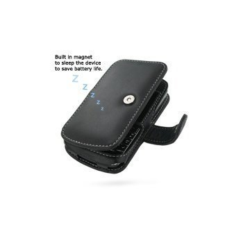 BlackBerry 9700 Bold PDair Leather Case 3BBB97B41 Musta