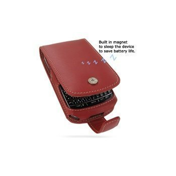 BlackBerry 9700 Bold PDair Leather Case 3RBB97F41 Punainen