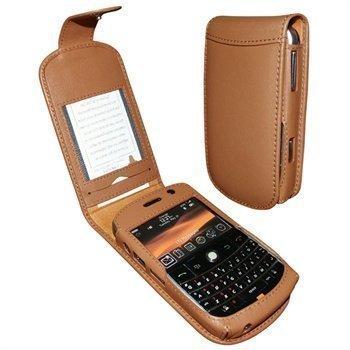 BlackBerry Bold 9000 Piel Frama Classic Nahkakotelo Ruskea