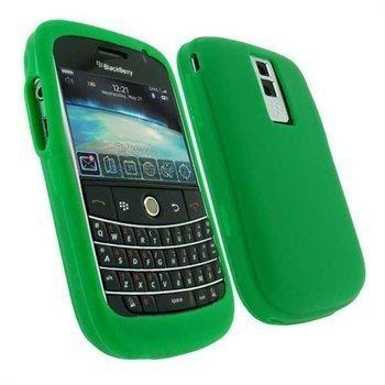 BlackBerry Bold 9000 Silikoni Kotelo Armeijanvihreä