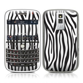 BlackBerry Bold 9000 Zebra Stripes Skin