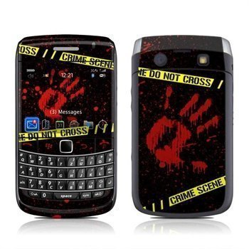 BlackBerry Bold 9700 Crime Scene Skin