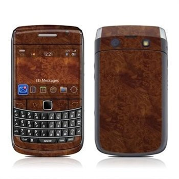 BlackBerry Bold 9700 Dark Burlwood Skin