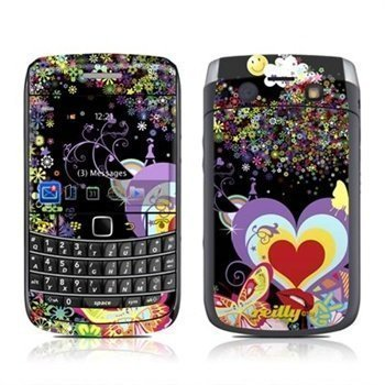 BlackBerry Bold 9700 Flower Cloud Skin