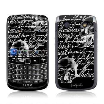 BlackBerry Bold 9700 Liebesbrief Skin Black
