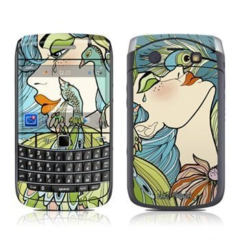BlackBerry Bold 9700 Peacock Feathers Skin