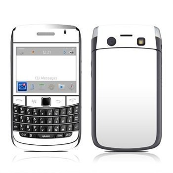 BlackBerry Bold 9700 Solid State Skin White