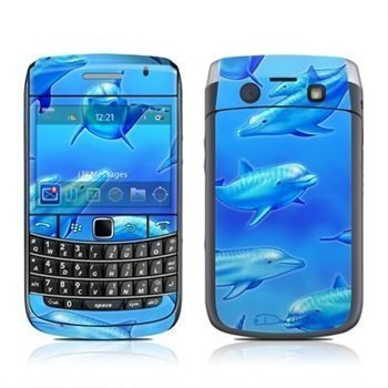BlackBerry Bold 9700 Swimming Dolphins Skin