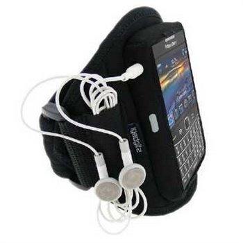 BlackBerry Bold 9780 9700 iGadgitz Vedenkestävä Käsivarsikotelo Musta