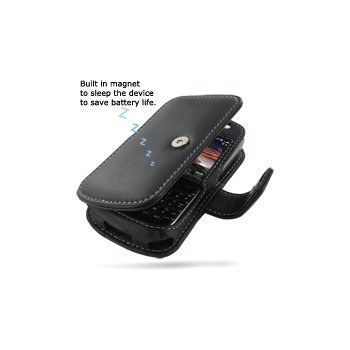 BlackBerry Bold 9780 PDair Leather Case 3BBBB9B41 Musta