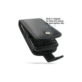 BlackBerry Bold 9780 PDair Leather Case 3BBBB9F41 Musta