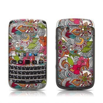 BlackBerry Bold 9790 Doodles Color Skin