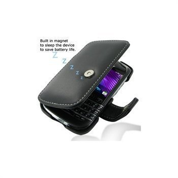 BlackBerry Bold 9790 PDair Leather Case 3BBBD9B41 Musta