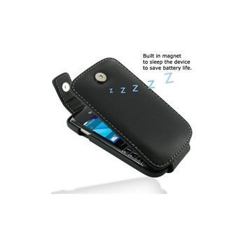 BlackBerry Bold 9790 PDair Leather Case 3BBBD9T41 Musta