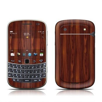 BlackBerry Bold Touch 9900 9930 Dark Rosewood Skin
