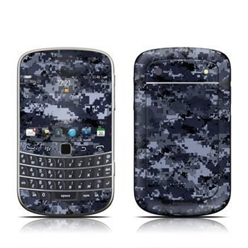 BlackBerry Bold Touch 9900 9930 Digital Navy Camo Skin