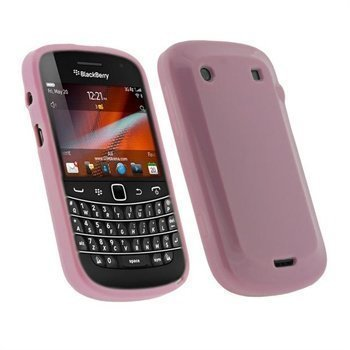 BlackBerry Bold Touch 9900 9930 iGadgitz TPU-Kotelo Pinkki