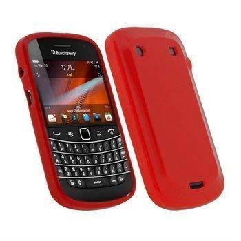 BlackBerry Bold Touch 9900 9930 iGadgitz TPU-Kotelo Punainen