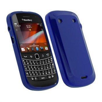 BlackBerry Bold Touch 9900 9930 iGadgitz TPU-Kotelo Sininen