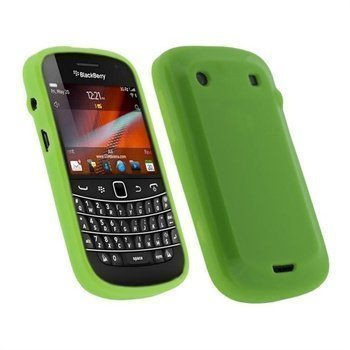 BlackBerry Bold Touch 9900 9930 iGadgitz TPU-Kotelo Vihreä