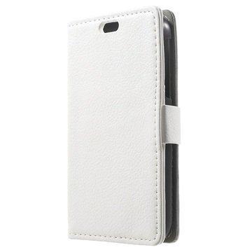 BlackBerry Classic Kuvioitu Lompakkokotelo Valkoinen