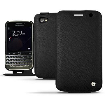 BlackBerry Classic Noreve Tradition Avattava Nahkakotelo Ambition Ebène