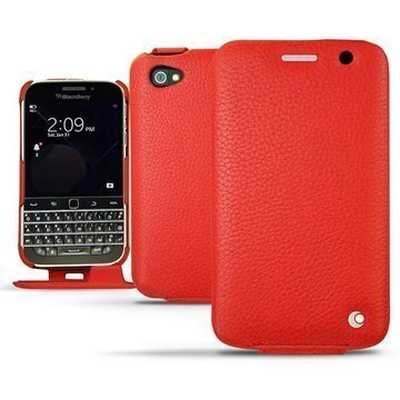 BlackBerry Classic Noreve Tradition Avattava Nahkakotelo Ambition TomateÂ
