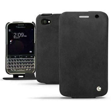 BlackBerry Classic Noreve Tradition Avattava Nahkakotelo Exception Dark Vintage