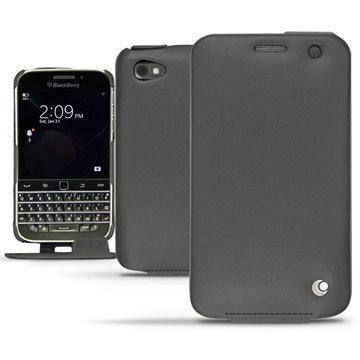 BlackBerry Classic Noreve Tradition Avattava Nahkakotelo Perpétuelle Musta