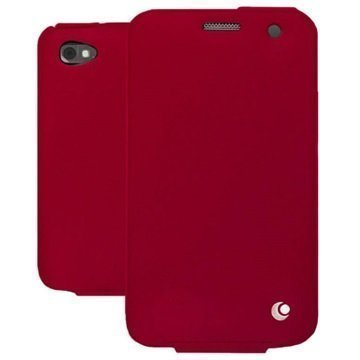 BlackBerry Classic Noreve Tradition Avattava Nahkakotelo Perpétuelle Punainen