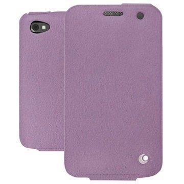BlackBerry Classic Noreve Tradition Avattava Nahkakotelo Perpétuelle Violetti
