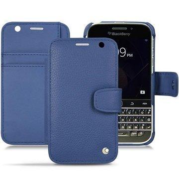 BlackBerry Classic Noreve Tradition B Lompakkomallinen Nahkakotelo Ambition IndigoÂ