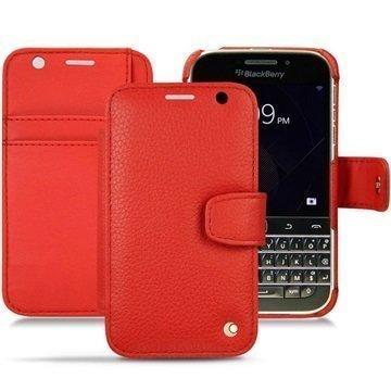 BlackBerry Classic Noreve Tradition B Wallet Nahkakotelo Ambition Tomaatti