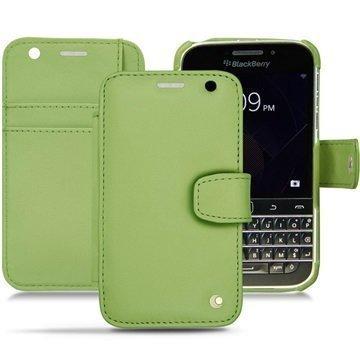 BlackBerry Classic Noreve Tradition B Wallet Nahkakotelo Perpétuelle Oliivinvihreä
