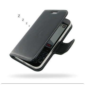 BlackBerry Classic PDair Leather Case NP3BBBCCB41 Musta
