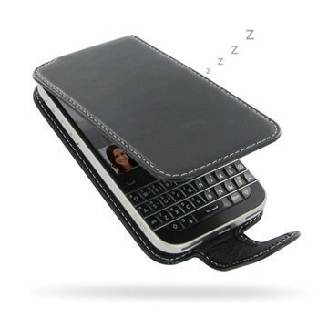 BlackBerry Classic PDair Leather Case NP3BBBCCF41 Musta