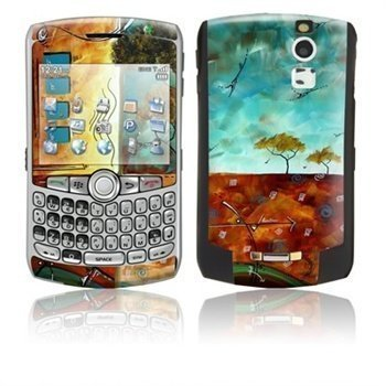 BlackBerry Curve 8300 African Breeze Skin