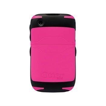 BlackBerry Curve 8520 8530 3G 9300 3G 9330 OtterBox Reflex Series Kotelo Musta/Vaaleanpunainen