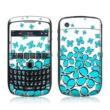 BlackBerry Curve 8520 8530 Daisy Field Teal Skin