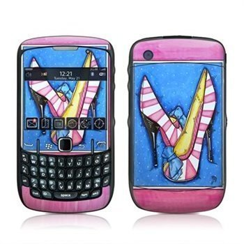 BlackBerry Curve 8520 8530 Diva Slippers Skin