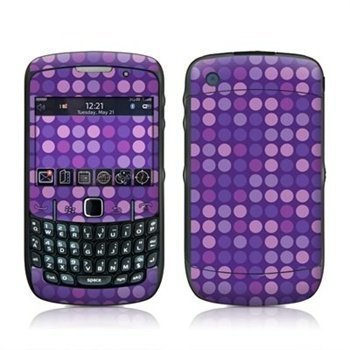 BlackBerry Curve 8520 8530 Dots Purple Skin