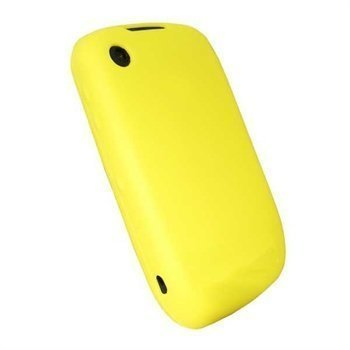 BlackBerry Curve 8520 Curve 3G 9300 iGadgitz Silicone Case Yellow