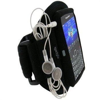 BlackBerry Curve 8520 Curve 3G 9300 iGadgitz Vedenkestävä Käsivarsikotelo Musta