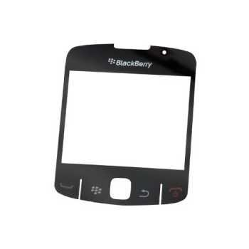 BlackBerry Curve 8520 Display Glass Black