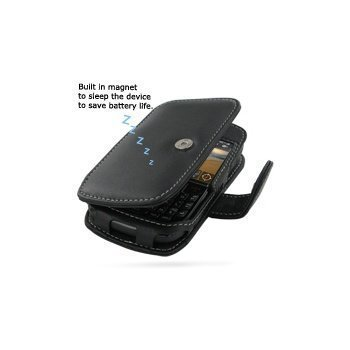 BlackBerry Curve 8520 PDair Leather Case 3BBB52B41 Musta